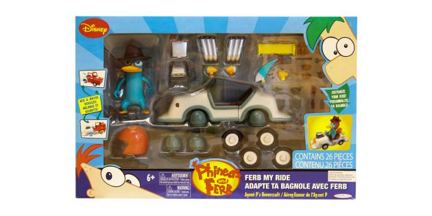 Vehiculo Phineas and Ferb
