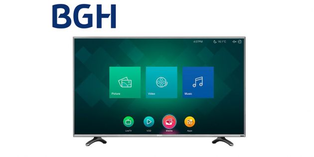 TV LED SMART BGH 48 FULL HD BLE4815RTFXIUY