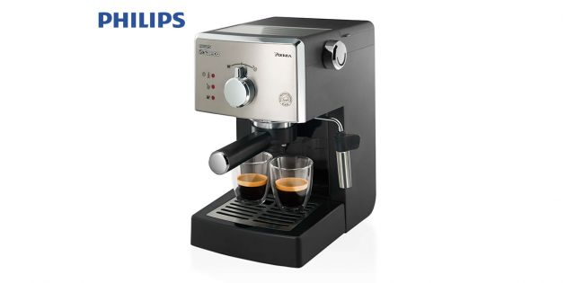 Cafetera Espresso Manual Philips