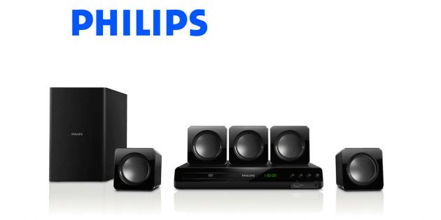 Home Theater 5.1 HTD3510 55