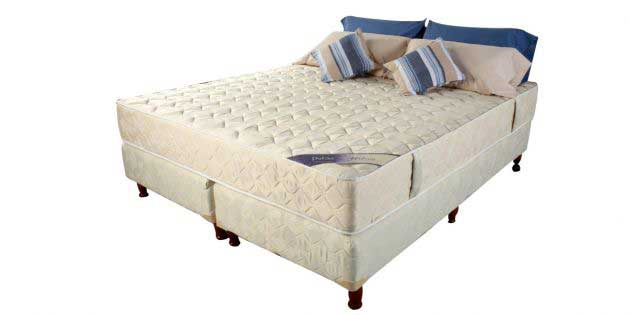 Sommier King c/colchón dens 35 premium extra firme