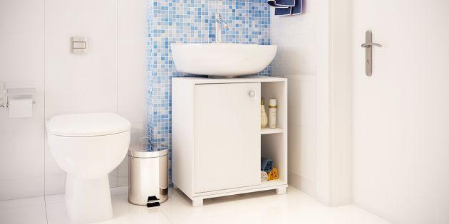 Armario de baño bajo pileta en MDP
