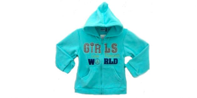 Campera polar niña