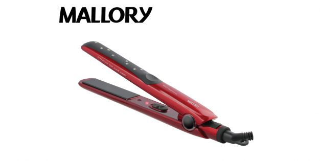 Planchita de pelo Mallory Red Diamond
