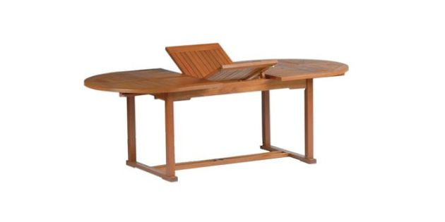 Mesa oval extensible
