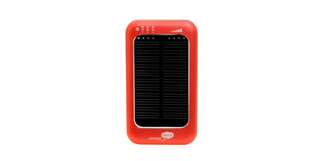Power Bank de emergencia solar concept Green
