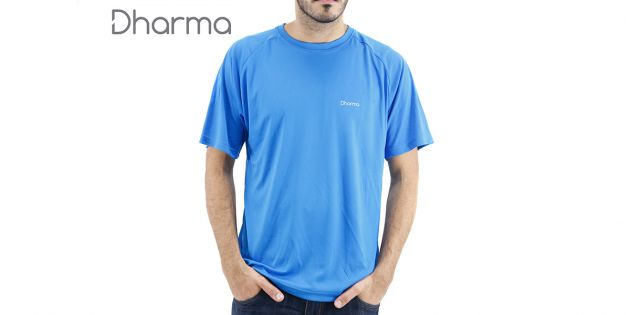 Camiseta dry fit para hombre Dharma