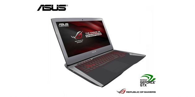 Notebook Asus Gamer Core i7 3.5Ghz ROG G752VY-GC400T