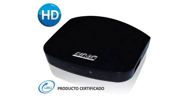 Sintonizador de Tv digital ISDBT Full HD