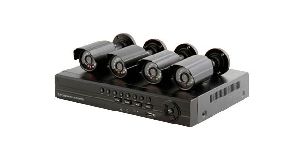 Kit de Vigilancia DVR + 4 cámaras Safesky
