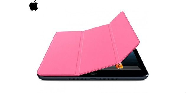 ESTUCHE SMART COVER IPAD MINI ROSADO