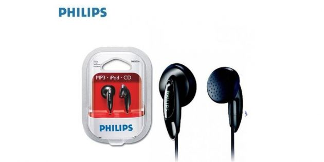 Auriculares Philips SHE 1350