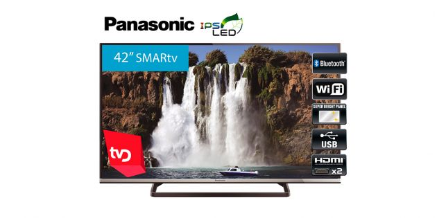 Televisor SMART LED 42'' Full HD Panasonic TC-42AS610