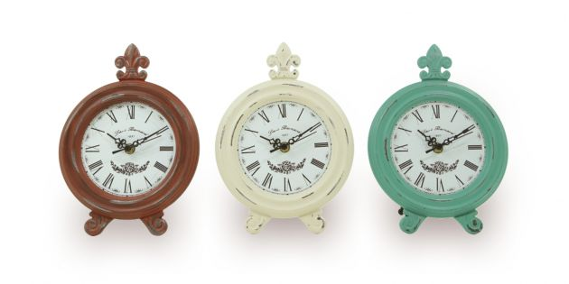 Reloj de madera antique