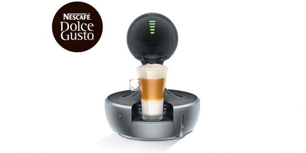 Cafetera Dolce Gusto Drop Silver