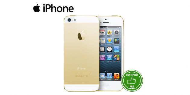 Iphone 5s 16GB Pre-owned Gold