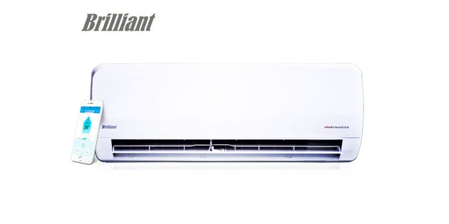 Aire Acondicionado Brilliant Smart Inverter 24000 BTU
